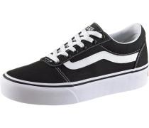 Sneaker 'Ward Platform' schwarz