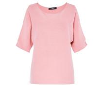 Cold-Shoulder-Pullover rosa