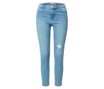 Jeans 'pckamelia' blau