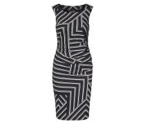 Kleid 'Aline' creme / schwarz