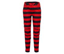 Jeans '5622 3D' rot / schwarz