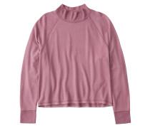Shirt 'LS Cozy Crew Tee' pink