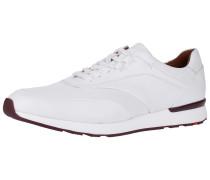 Sneaker weinrot / weiß