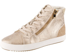 Sneakers High 'Blomiee' gold