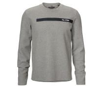 Sweatshirt ultramarinblau / grau