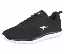 Sneaker 'Bumpy' schwarz / weiß