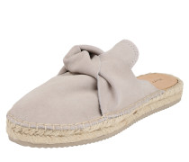 Slipper 'Cow Suede' taupe