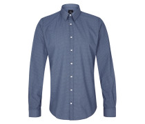 Slim Fit: Hemd mit Krawattenmuster