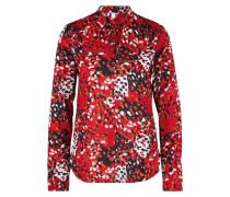 Bluse mischfarben / rot