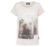 T-Shirt 'Rose Garden' rosa