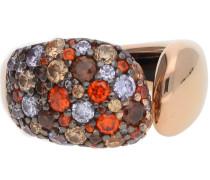 Damen Fingerring rosegold / mischfarben