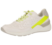 Sneaker neongelb / weiß / grau