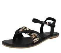 Sandale 'lexie' schwarz