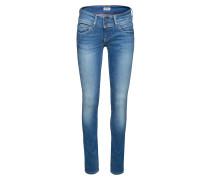 'Vera' Gerade geschnittene Jeans blau