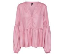 Bluse 'vmcharlie L/S Top' pink