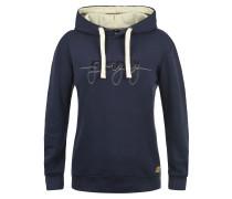 Sweatshirt 'Malle' beige / indigo
