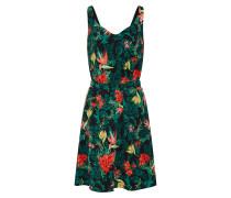 Kleid 'ia' grün / schwarz