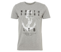T-Shirt 'piyewe T/s' graumeliert