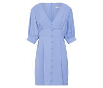 Kleid 'ladies Woven Dress' hellblau