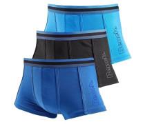 Boxer (3 Stück) blau / türkis / schwarz