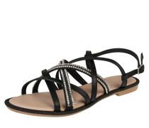 Sandale 'Nazli Multi Ban' schwarz