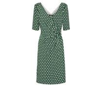 Kleid im 60's Stil grün / weiß