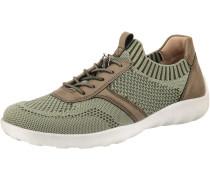 Sneaker braun / grün