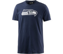 T-Shirt 'seattle Seahawks' blau