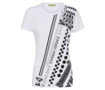 T-Shirt 'rdm601 34' schwarz / weiß