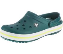 Clogs 'Crocband EvGr/TBG' gelb / grün / weiß