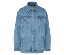 Jeansjacke 'W Trucker Jacket' blau