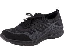 Sneaker schwarz / graumeliert