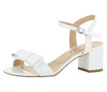 Sandalette 'mariella' weiß