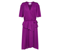 Kleid 'Laura Long Wrap' lila