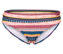 Bikinihose 'Zucci' blau / gelb / rot