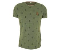T-Shirt 'El Master Del Buscho' hellgrün