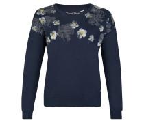Trendiger Pullover nachtblau