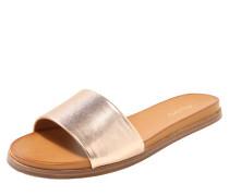 Pantoletten 'fabrizzia' bronze