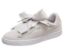 Sneaker 'Suede Heart Galaxy' hellgrau