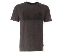 T-Shirt 'Manjo' graumeliert