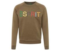 Sweatshirt 'otb logo cneck' grün