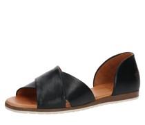 Sandale 'chiusi' schwarz