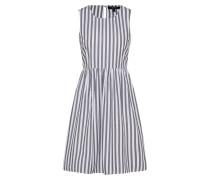 Kleid 'candice' grau / weiß