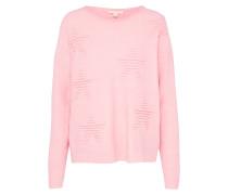 Pullover mit Sternmotiven rosa