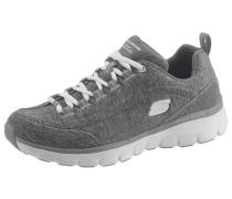 Sneaker graumeliert / weiß
