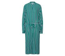2e1c796ba24aaf Kleid  Linetta  navy   grün   weiß. Vila