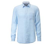 Langarm-Hemd hellblau