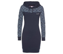 Kleid marine / hellblau