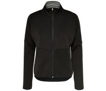 Brush-Effekt Sweatshirt schwarz