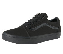 Sneaker Low 'old Skool' schwarz
